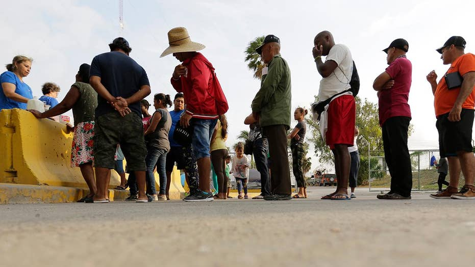 Record border apprehensions amid push to tighten asylum laws