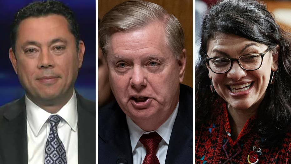 Jason Chaffetz on Rep. Tlaib's Holocaust comment, Sen. Graham's push to declassify Steele dossier