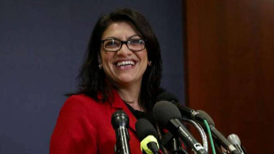 Rep. Mike Waltz on Rashida Tlaib's controversial Holocaust comments