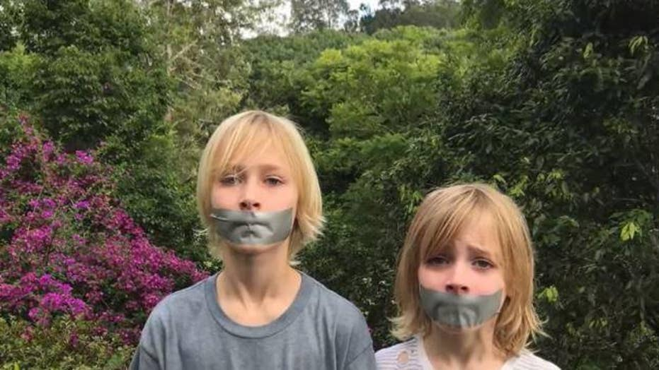 Naomi Watts' Mother's Day post with duct tape on kids sparks backlash