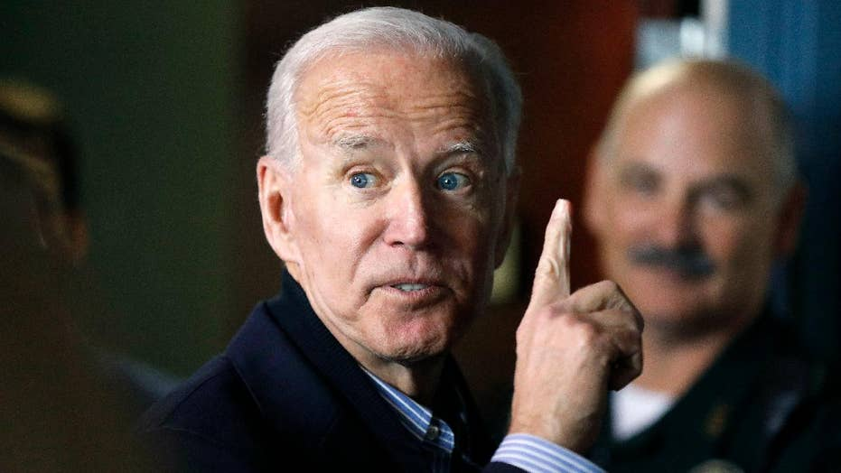 Biden: The president has done nothing but increase the tariffs and trade deficit