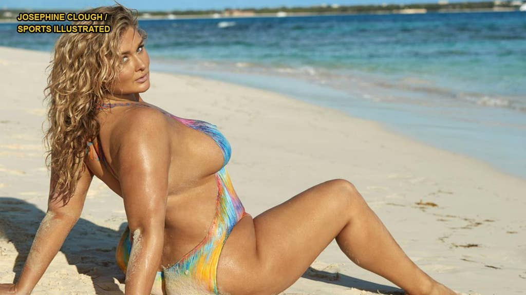 SIZZLING PICS: Plus-size SI swimsuit model has message for haters