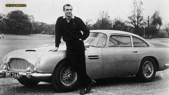 New $3.5 million 'Goldfinger' Aston Martin DB5 will have smoke screen and machine guns
