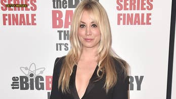 Kaley Cuoco says husband Karl Cook is 'his own man' when it comes to unflattering anniversary photos