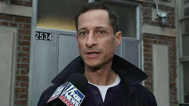 Anthony Weiner talks to Fox News after release from NY halfway house