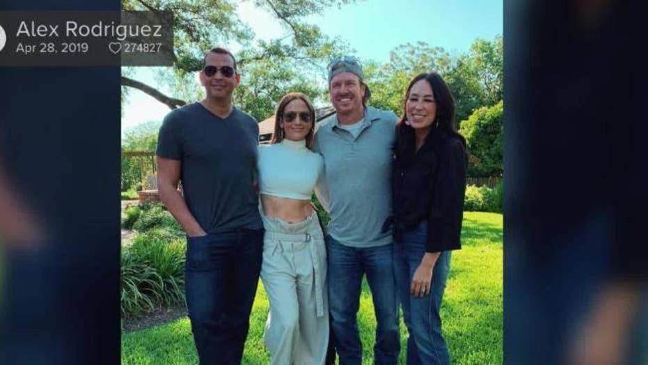 HGTV stars Chip and Joanna Gaines may be working on a new project with Alex Rodriguez