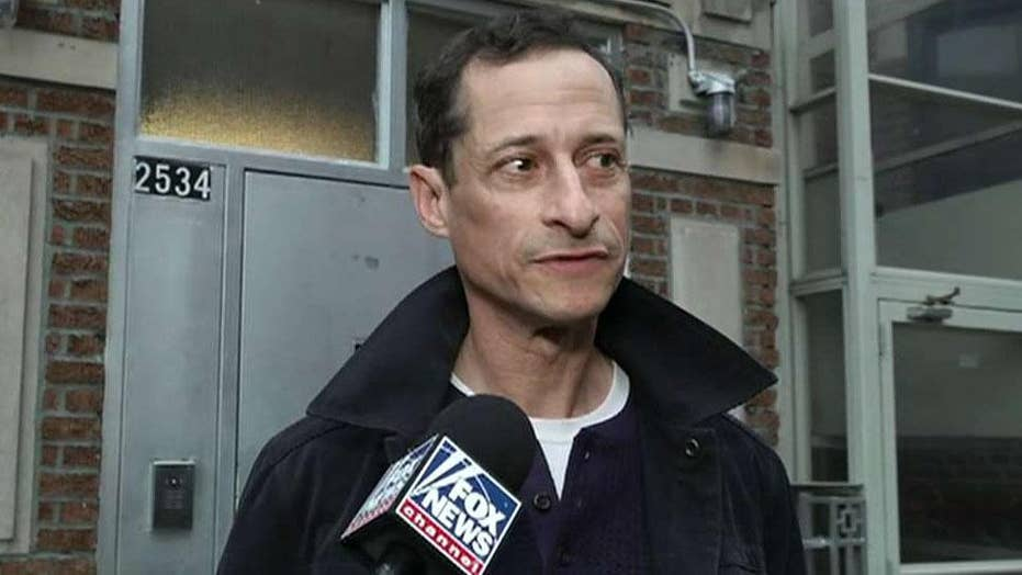 Anthony Weiner released from halfway house