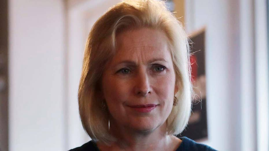 2020 candidate Gillibrand blames low poll numbers on sexism