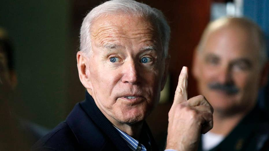 If Democratic Frontrunners Cant Stop >> Marc Thiessen Frontrunner Joe Biden Is A Heretic In The Brave New