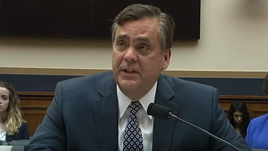Turley warns House committee is heading to a 'world of hurt' if they go to court over Barr contempt issue