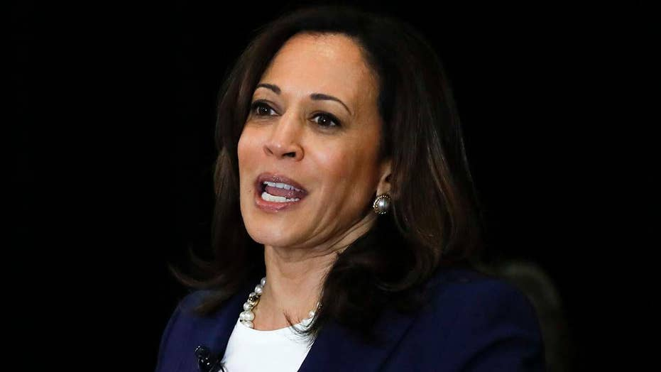 Sen. Kamala Harris vows ban on imports of AR-15-style rifles