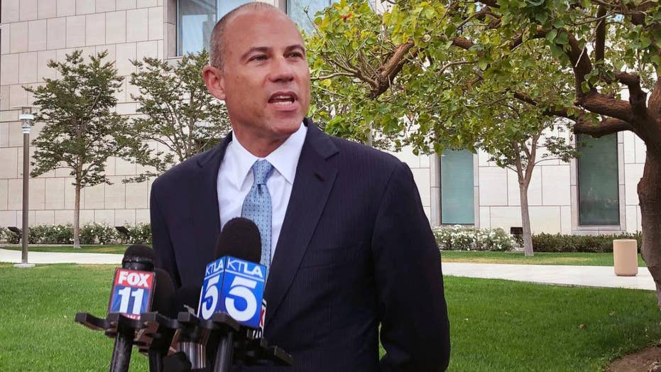 Michael Avenatti addresses media after hearing in federal fraud case