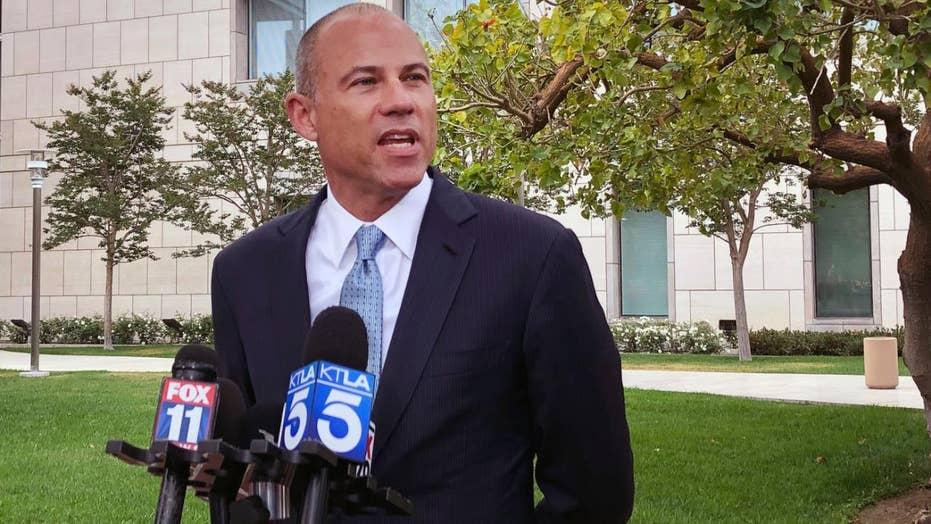 Michael Avenatti addresses media after hearing in federal fraud case