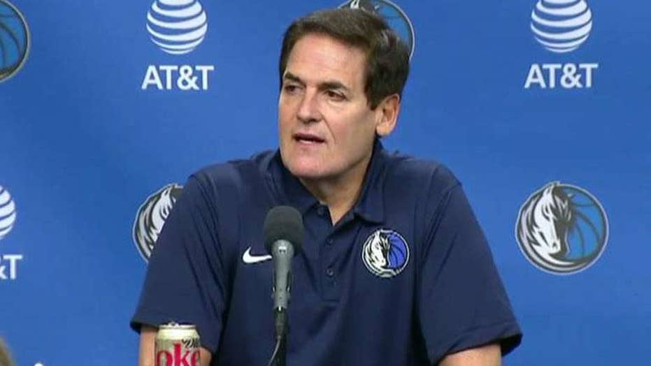 Mark Cuban open to 2020 run vs. President Trump
