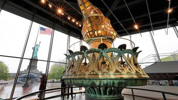 New Statue of Liberty Museum opens on Liberty Island