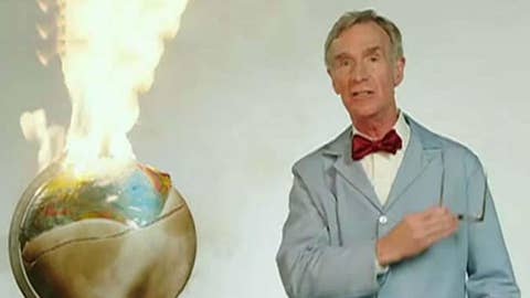 Bill Nye's fiery message on climate change