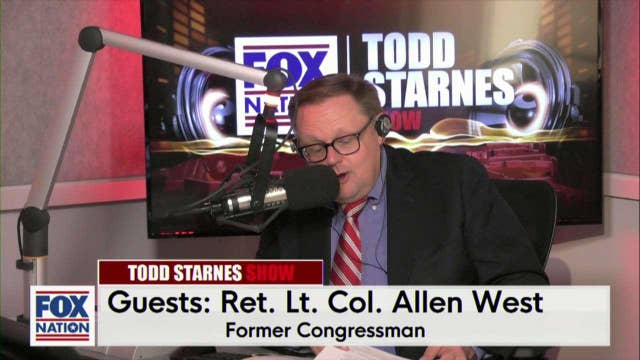 Todd Starnes and Ret. Lt. Col. Allen West