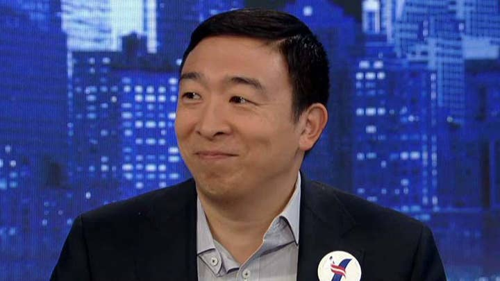 2020 candidate Andrew Yang explains his universal basic income proposal