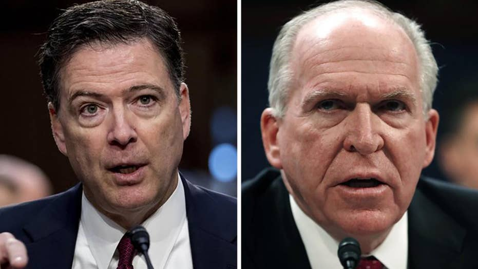 Comey or Brennan? Dispute erupts over who pushed Steele dossier