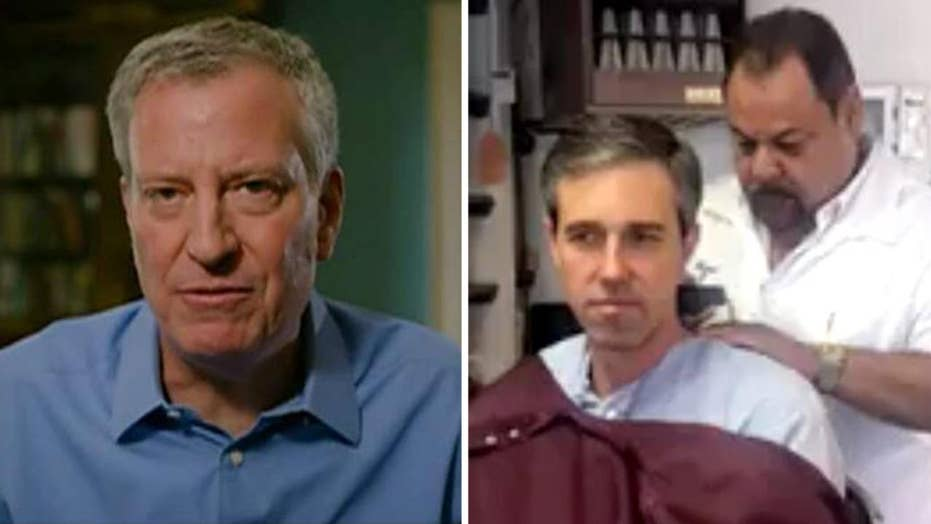 Road to 2020: Bill de Blasio joins primary field, Beto O'Rourke livestreams his haircut