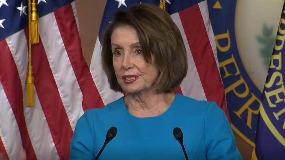 Pelosi discusses subpoenas, contempt during weekly press briefing
