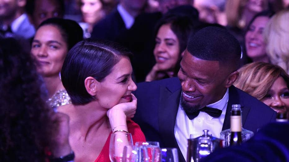 Jamie Foxx's daughter happy her dad and Katie Holmes are finally showing some PDA