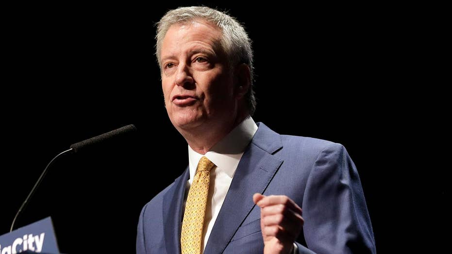 New York City Mayor Bill de Blasio announces 2020 White House run