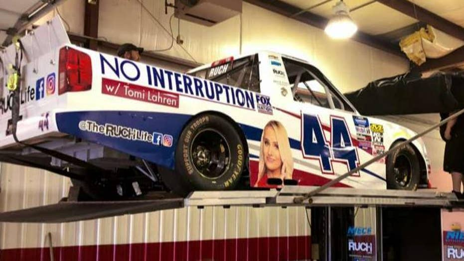 Tomi Lahren's Fox Nation show gets display on NASCAR truck
