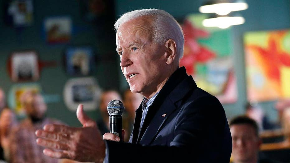 Joe Biden maintains double-digit lead over rivals in new Fox News poll