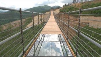Longest pedestrian bridge in North America opens in Tennessee