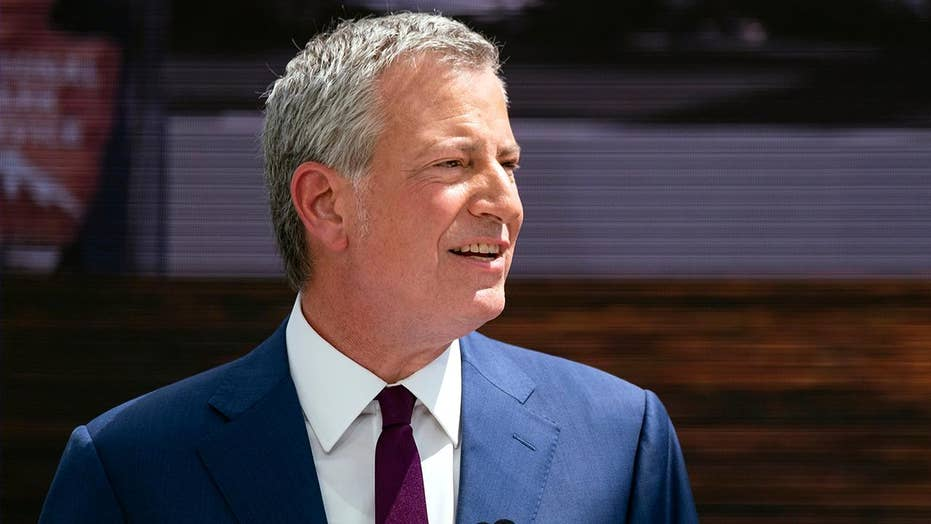 NYC Mayor De Blasio announces 2020 presidential run