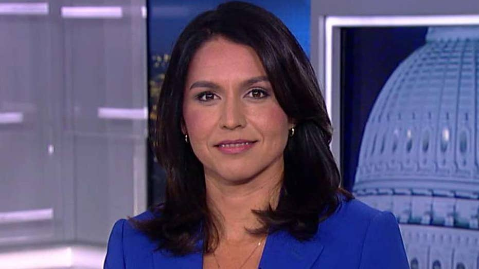 Rep. Tulsi Gabbard warns that a fight with Iran would make a Iraq War 'look like a cakewalk'
