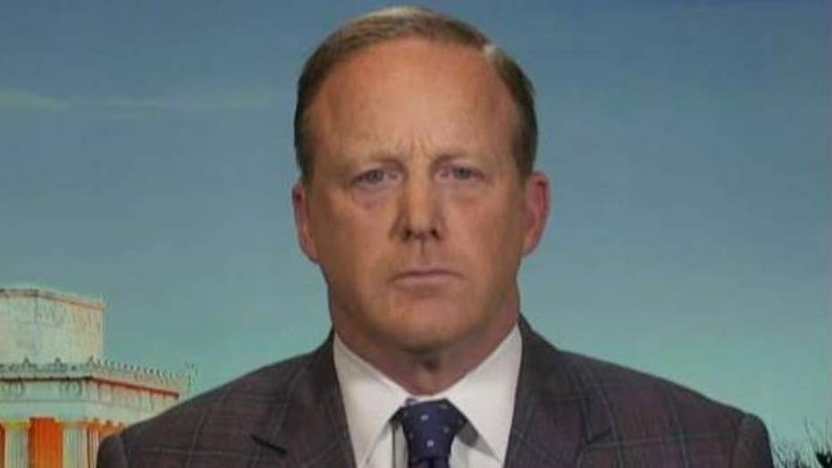 Sean Spicer on President Trump being warned about General Flynn by Obama