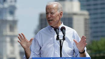 Biden holds first campaign rally
