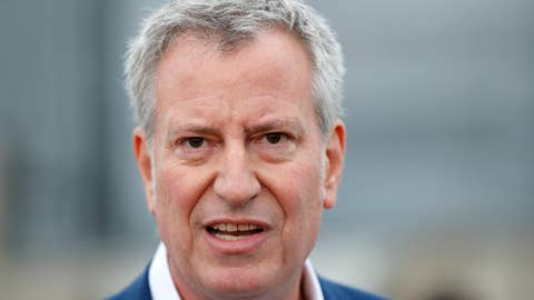 NYC police union after de Blasio launches presidential bid