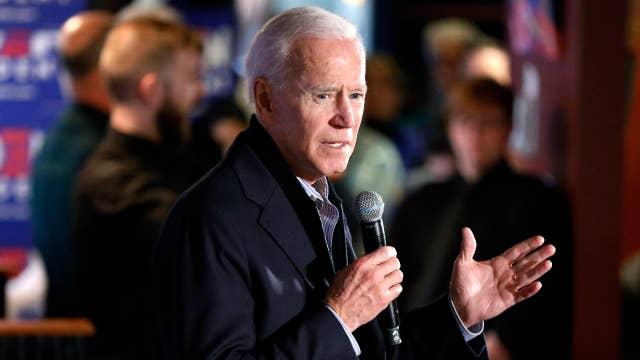 Former Vice President Joe Biden set to hold campaign rally in Philadelphia, Pennsylvania