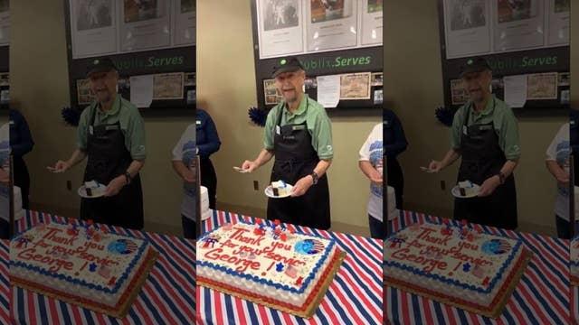 Veteran, 87, honored at his Publix job