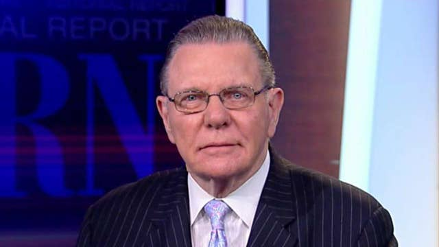 Gen. Jack Keane on rising tensions with Iran and claims the White House is exaggerating the threat