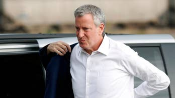 Trump tells New York City Mayor Bill de Blasio to do his job with the little time he has left