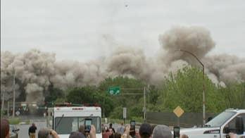 Bethlehem steelmaker headquarters imploded