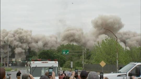 Watch: Defunct Bethlehem Steel headquarters imploded
