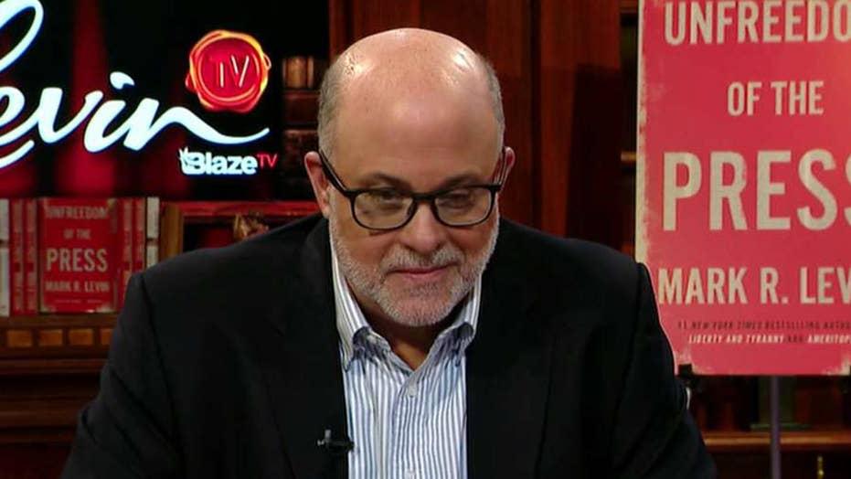 Mark Levin discusses bias in the mainstream media