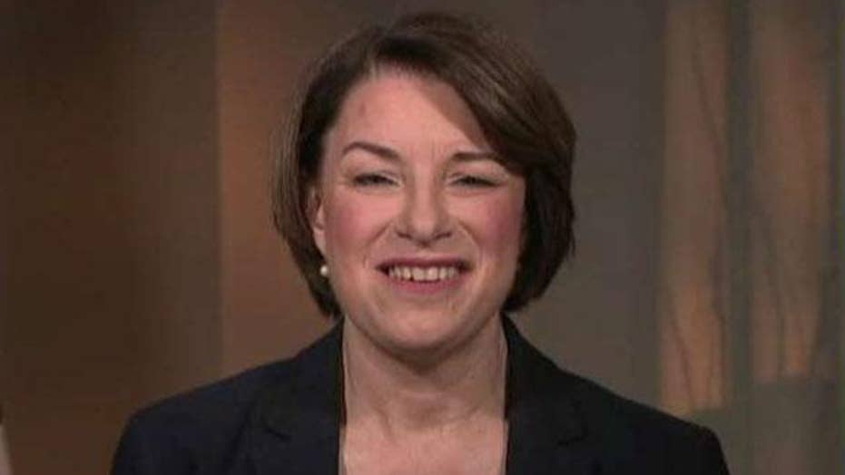 Sen. Amy Klobuchar responds to GOP moves on abortion and immigration