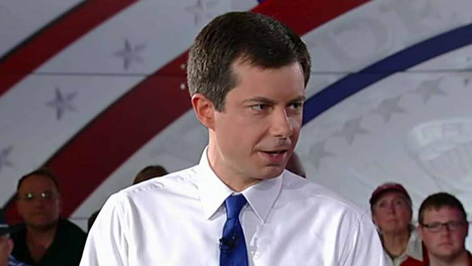 Pete Buttigieg takes on President Trump at Fox News town hall