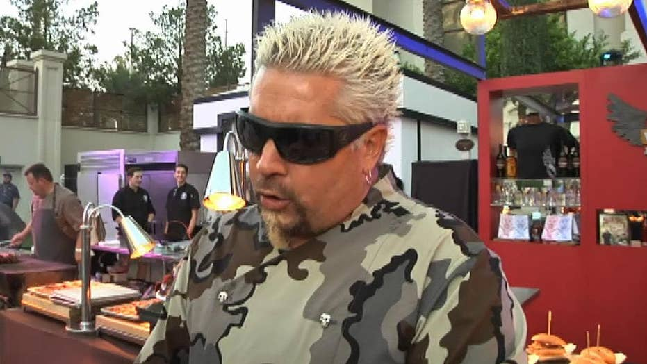 Guy Fieri gets his star; Paul McCartney his the road