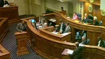 Heated debate on Alabama Senate floor sparked by abortion bill