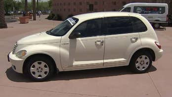 East Valley Institute of Technology awards a student with perfect attendance a Chrysler PT Cruiser