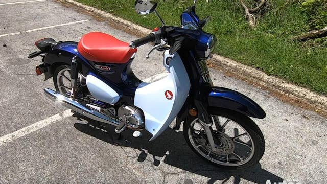 2019 Honda Super Cub test ride