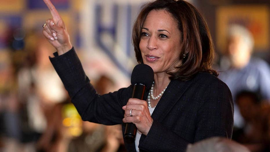 Kamala Harris vows to excellent companies that compensate group some-more than women
