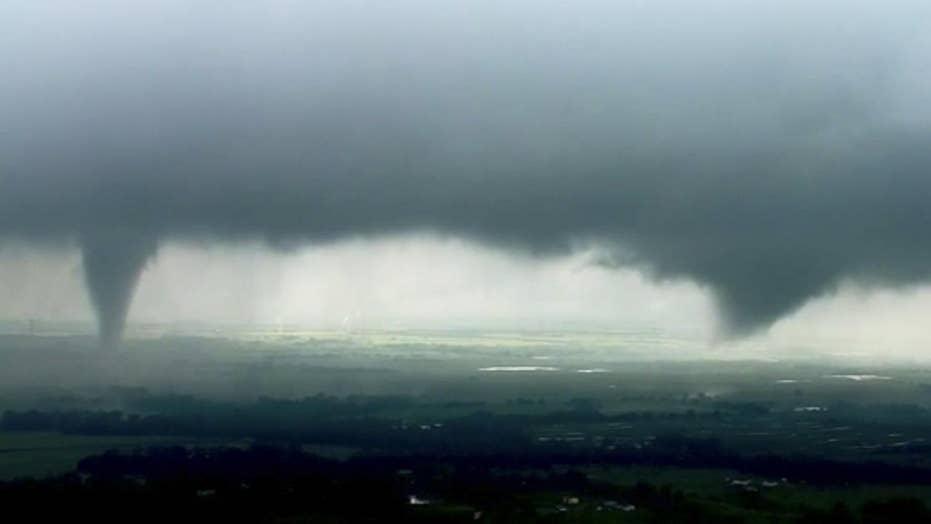 Millions of Americans facing tornado threat, flash flooding in Oklahoma